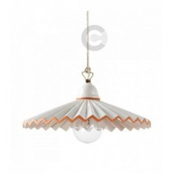 Hanging Lamp - Ceramic - Terracotta Decor