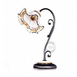 Elizabeth Light - Ceramic and Anthracite Iron - Elite Decor