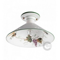 Ceiling Lamp - Ceramic - Piedmont Decor