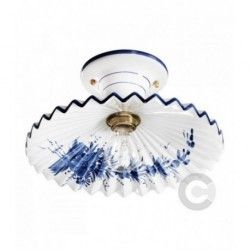 Ceiling Lamp - Ceramic - English Decor